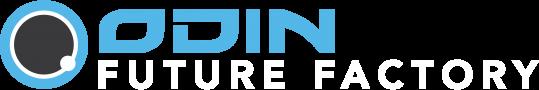 Odin Future Factory Logo_white text